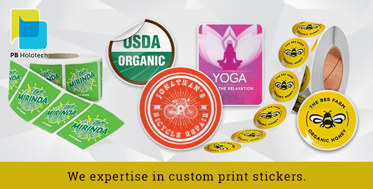Importance of Custom Print Stickers
