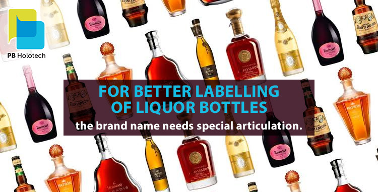 A Step by Step Guideline of labelling Alcohol Bottles