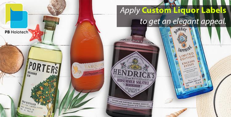 Personalized Liquor Bottle Labels A Key Study