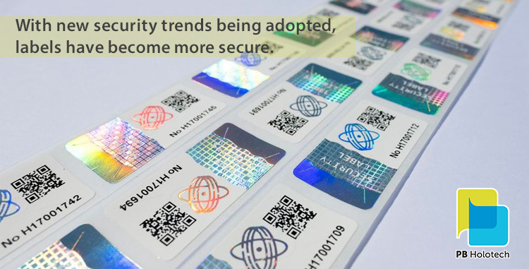 Security Label Design Trends You Need to Be Aware in 2021
