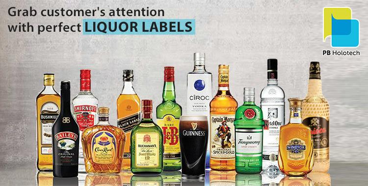 liquor label manufacturers