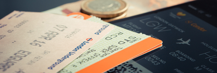 Baggage Tags and Boarding Pass
