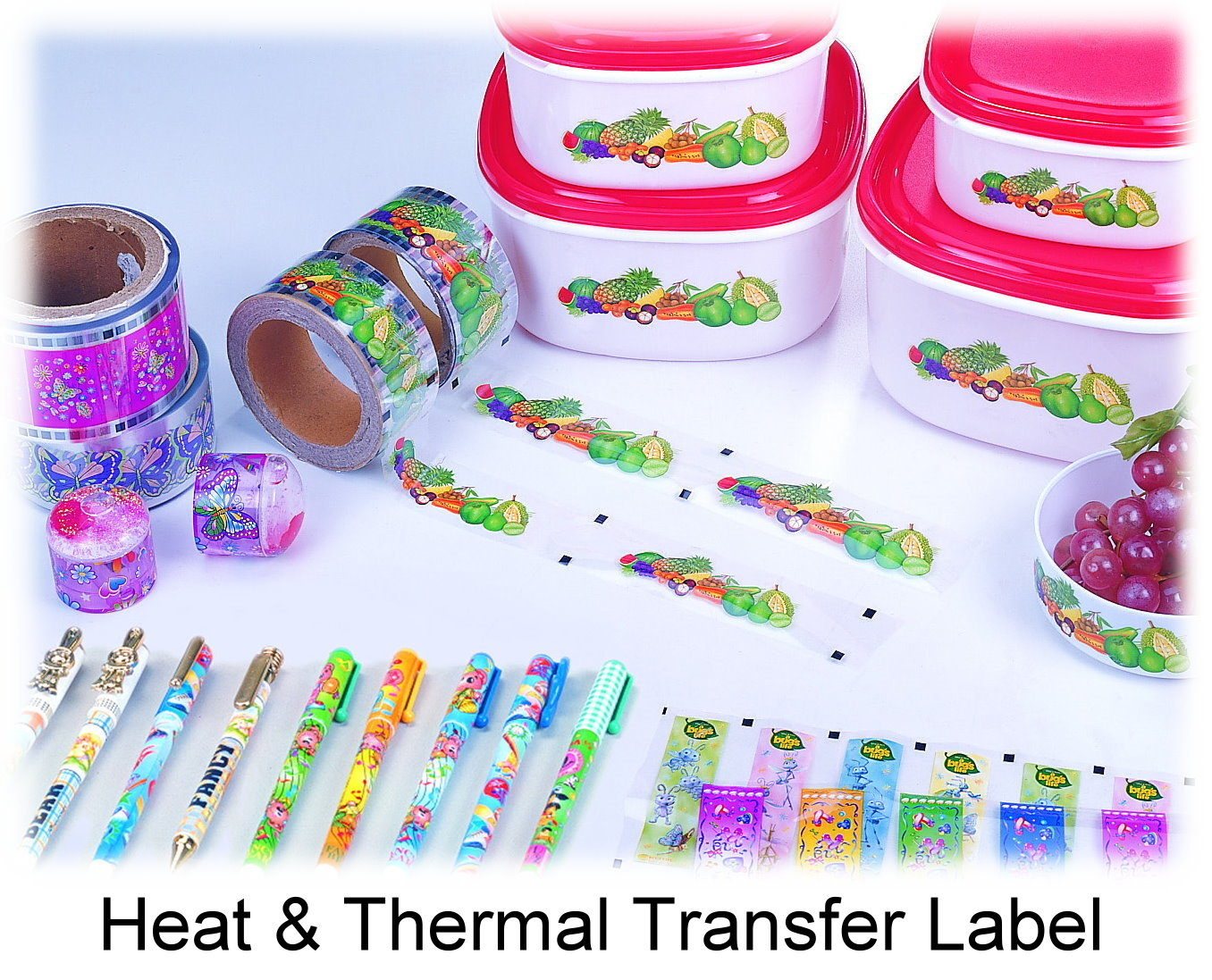 Heat Transfer Film & In Mould Labels